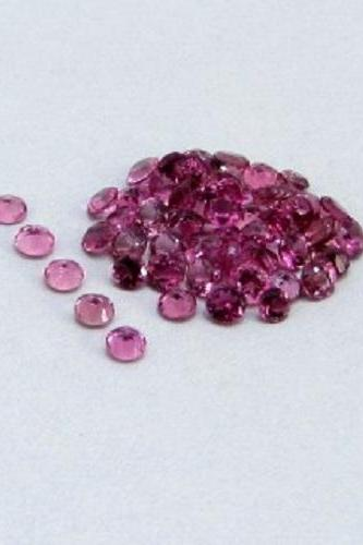 Natural Pink Tourmaline 3.5mm 100 Pieces Lot Faceted Cut Round Pink Color Top Quality Loose Gemstone