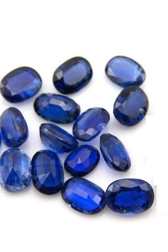 Natural Kyanite 3x5mm 5 Pieces Lot Faceted Cut Oval Blue Color Top Quality Loose Gemstone