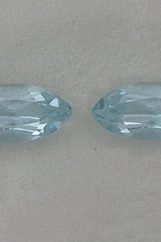 Natural Sky Blue Topaz 5x10mm 50 Pieces Lot Faceted Cut Marquise Blue Color - Natural Loose Gemstone