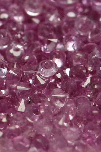 Natural Pink sapphire 2.4mm 25 Pieces Lot Faceted Cut Round Pink Color Top Quality Loose Gemstone