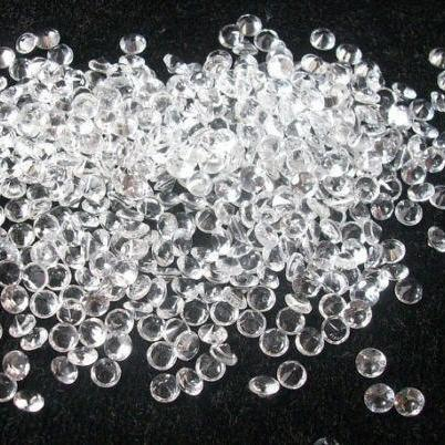 Natural White Topaz Calibrated Size 0.8mm, 0.9mm, 1.00mm 25 Pieces Lot Faceted Cut Round Natural - Loose Gemstone